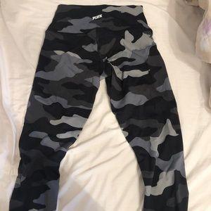 PINK NWOT Navy Camo Leggings